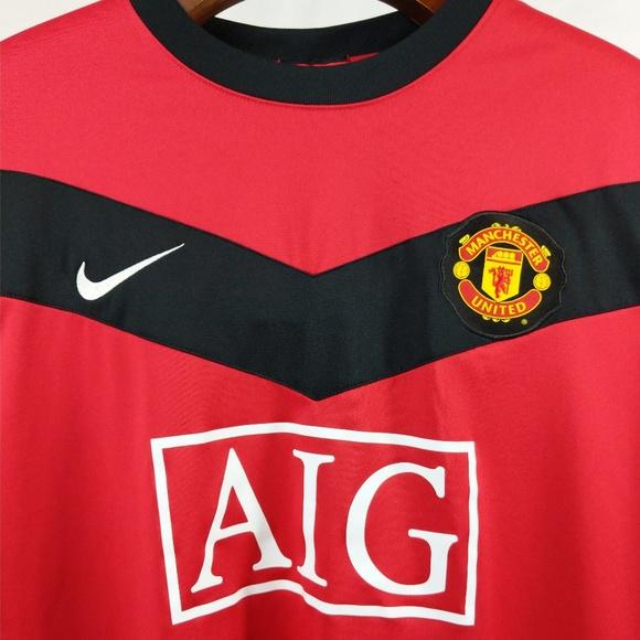 895ec31ac81 Nike Manchester United Football Soccer Jersey. M 5b2e9f9ec9bf505e38b04b3f
